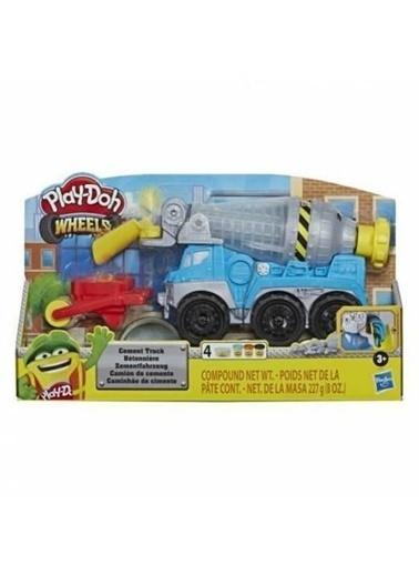 Play-Doh  Çalışkan Çimento Kamyonu E6891 Renkli
